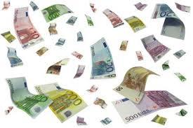 pluie d'euros