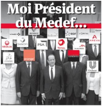 hollandepresidentmedef