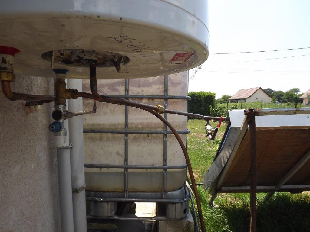 Construire son chauffe eau solaire pas cher - Chauffe eau thermodynamique pas cher ...