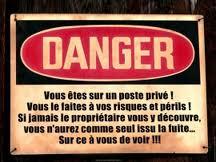 danger..