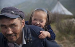 peuple en mongolie