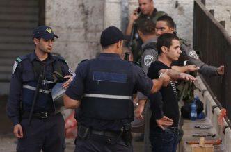 controle policier israelien