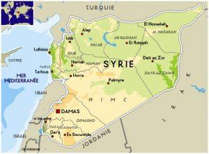 syrie-carte-de-syrie-alep-damas-homs-lattaquie-hama-ar-raqqa-deir-ez-zor-al-hasaka-liban-israel-jordanie-turquie-irak-moyen-orient