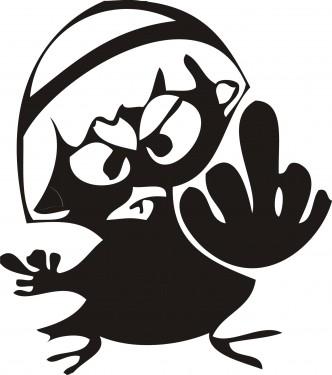 calimero-doigt
